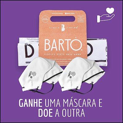 KIT  DIÁRIO CANINO MÉDIO + MASCARA BRANCA