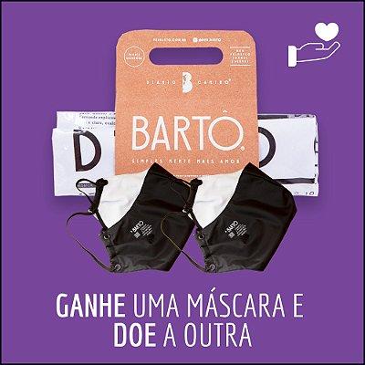 KIT DIÁRIO CANINO MÉDIO + MASCARA PRETA