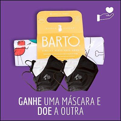KIT  DIÁRIO CANINO MINI + MASCARA PRETA