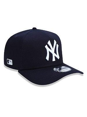BONÉ 9FORTY A-FRAME ABA CURVA AJUSTÁVEL MLB NEW YORK YANKEES BASIC