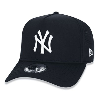 New Era Boné Aba Curva New York Yankees Perforated