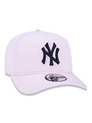 BONÉ 9FORTY A-FRAME MLB NEW YORK YANKEES - Rosa claro