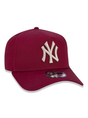 BONÉ 9FORTY A-FRAME MLB NEW YORK YANKEES - Bordô