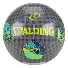 Bola de Futebol Campo Spalding 2.0 - Cinza e Verde