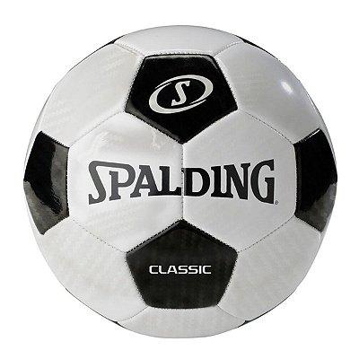 Bola de Futebol Classic Spalding - Preta