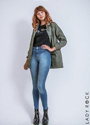 b302e689c64ca Calça Cintura Alta Hot Pants Jeans - Lady Rock