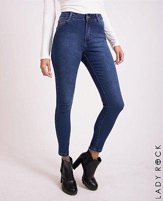 c7c155b14ed8e Calça Cintura Alta Hot Pants Jeans - Lady Rock