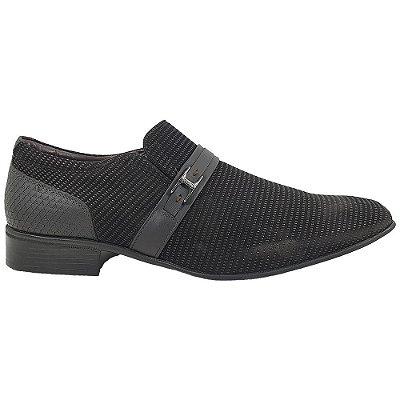 Sapato Masculino Jota Pe Airbag System Couro 78701 Preto