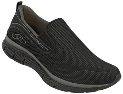 Tênis Olympikus Masculino Slip On Wellness 322 Preto Cd 585
