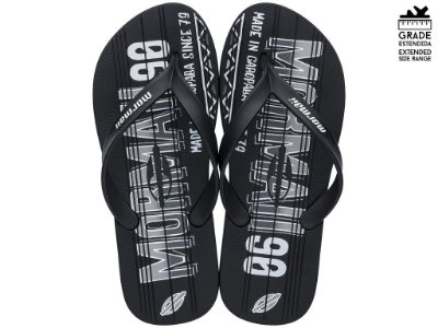 Chinelo Masculino Dedo Mormaii Tropical Graphics 10591 Preto