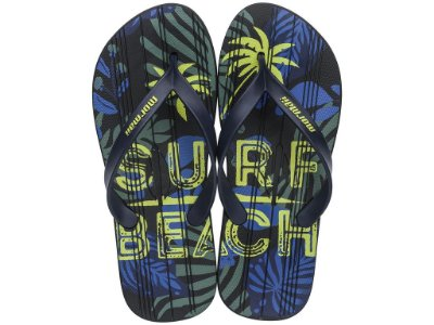 Chinelo Masculino Mormaii Tropical Graphics 10591 Preto Amarelo C 241