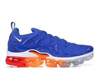 Nike VaporMax Plus azul e colorido