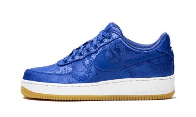 NIKE Air Force 1 blue silk