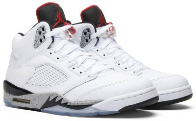 NIKE Air Jordan 5 Retro CEMENT
