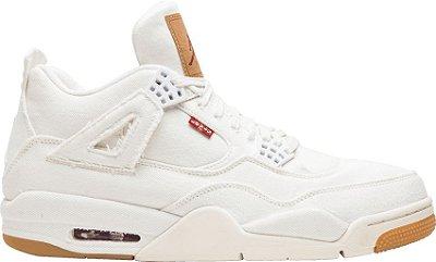 NIKE Levis x Air Jordan 4 WHITE