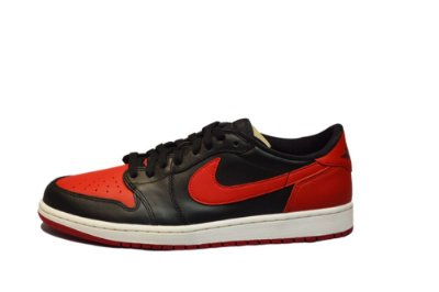 NIKE Air Jordan 1 Low BRED