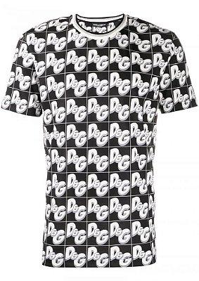Camiseta DOLCE & GABANNA black white logo