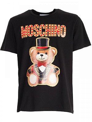 Camiseta Moschino black Magic Bear