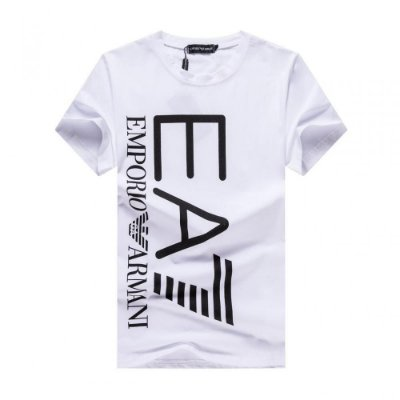 Camiseta Emporio Armani Double logo white