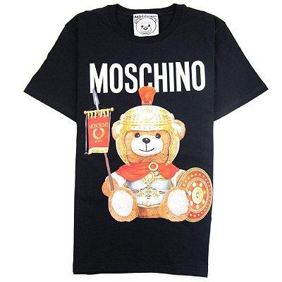 Camiseta Moschino Couture Roman Teddy Bear Black
