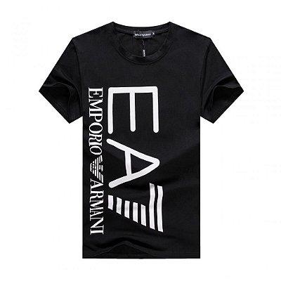 Camiseta Emporio Armani Double logo black