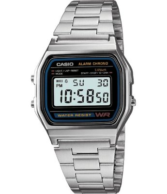 Relógio Casio PRATA E PRETO