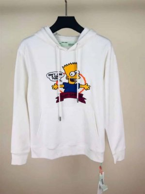 Moletom Off-White SIMPSONS