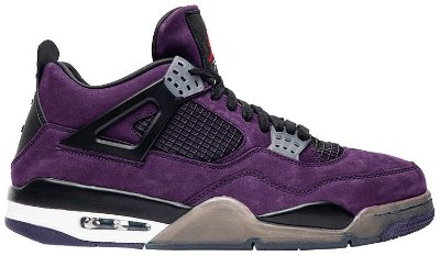 NIKE Air Jordan 4 Retro Cactus Jack Purple