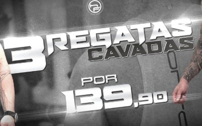 KIT PROMOCIONAL - 3 REGATAS CAVADAS
