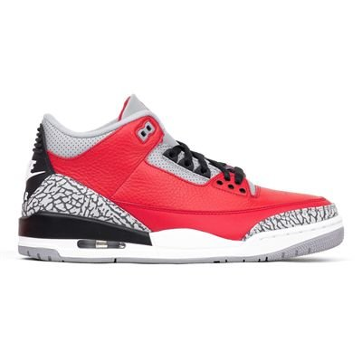NIKE Air Jordan 3 Red Cement