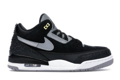 NIKE Air Jordan 3 Black Tinker