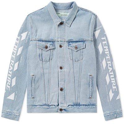 Jaqueta Jeans Off-White Temperature