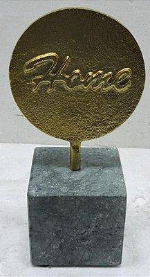Escultura Mármore Home