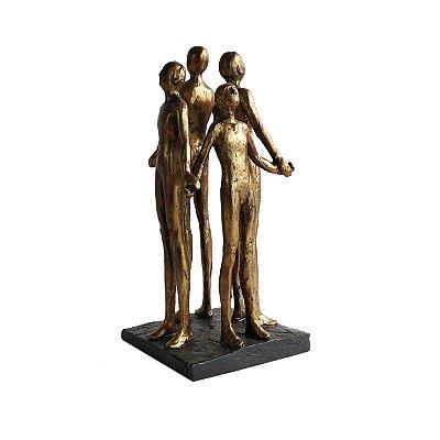 Escultura Ciranda Família