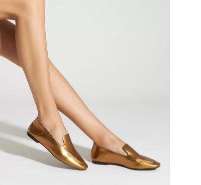 LOAFER METALLIC BRONZE