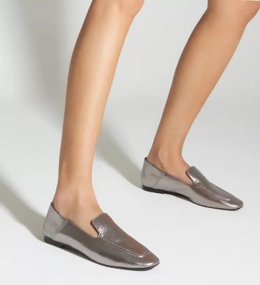 LOAFER METALLIC PRATA