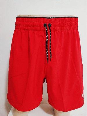 Short Elastano Vermelho