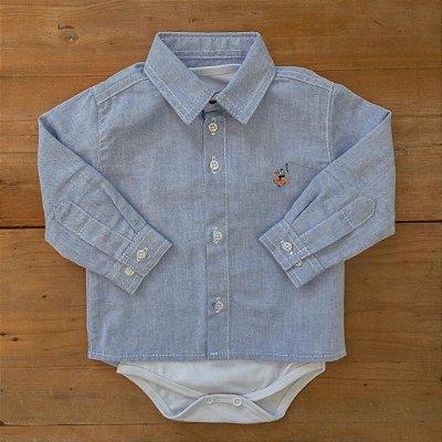 Camisa Body Social Dame Dos tamanho M