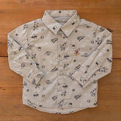 Camisa Social Forrada Dame Dos tamanho M