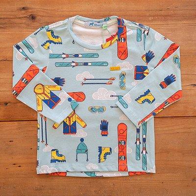 Camiseta Estampada Esportes Oliver Tamanho 1