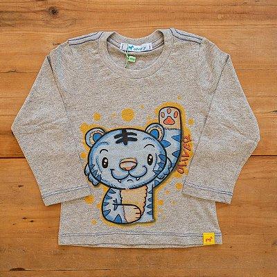 Camiseta Estampada Tigre Oliver Tamanho 1