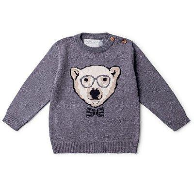 Blusa Infantil Urso Polar Masculina Dame Dos tamanho 1