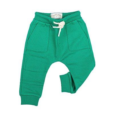 Calça Saruel Infantil Masculina Dame Dos Verde Tamanho 3