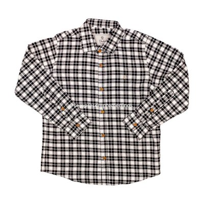 Camisa Flanela Kids Xadrez Dudes Tamanho 8