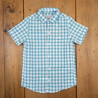 Camisa de Linho Xadrez Dudes Tamanho 8