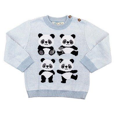 Blusa Infantil Pandas Dame Dos Tamanho 1