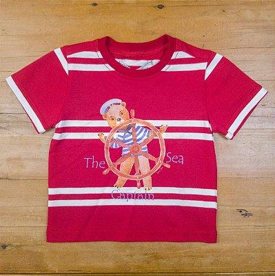 Camiseta Listrada Silk Dame Dos Tamanho M