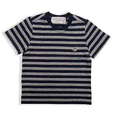 Camiseta Listrada Bicolor Dame Dos Tamanho 6