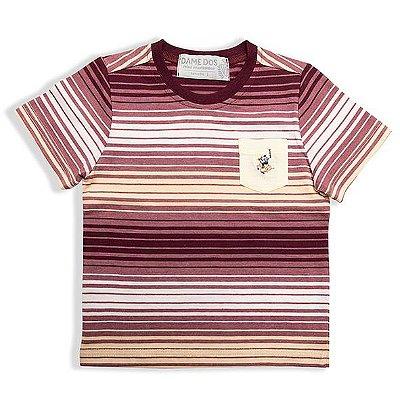 Camiseta Listrada Cuevas Dame Dos Tamanhos 3 e 6
