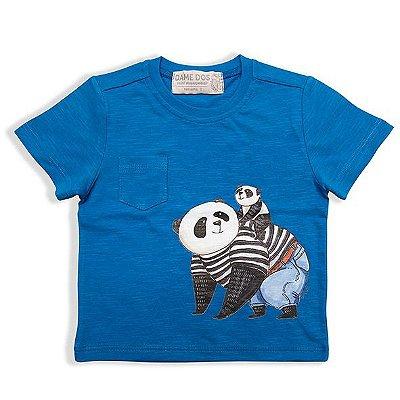 Camiseta Panda Bolso Dame Dos Tamanhos 1 e 2